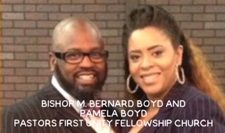 Bishop M. Bernard Boyd and Pamela Boyd