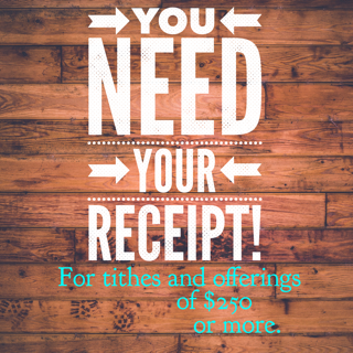 You need a receipt - Money reVerse