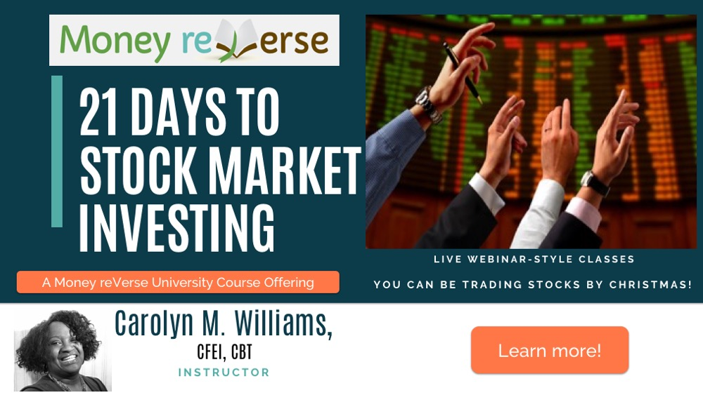 21 Days to Stock Market Investing Class